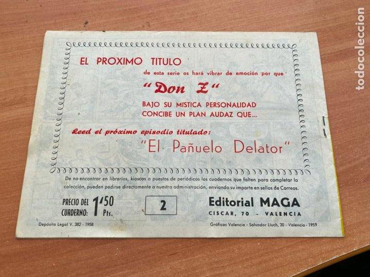 Tebeos: DON Z Nº 2 ORIGINAL (ED. MAGA) (COIB166) - Foto 2 - 229895765