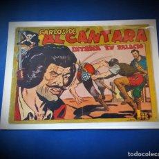 Tebeos: CARLOS DE ALCANTARA Nº 22. MAGA-ORIGINAL. Lote 230029830