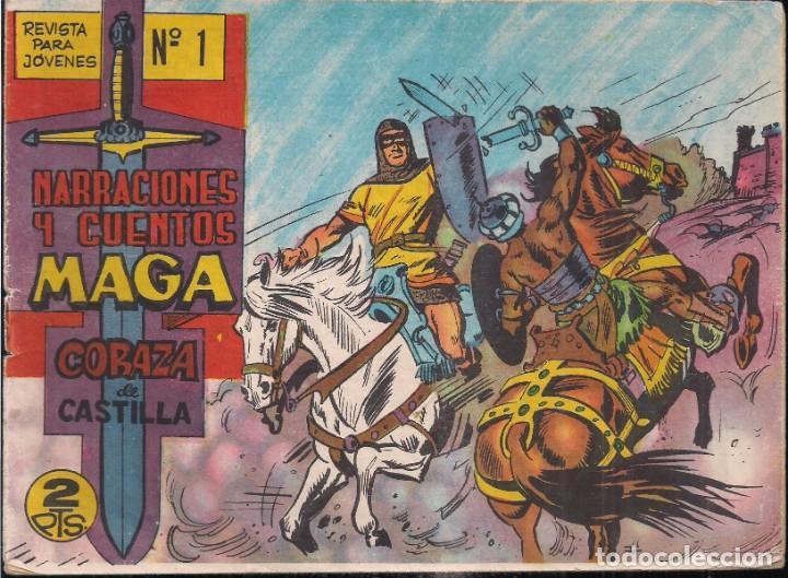 CORAZA DE CASTILLA Nº 1 (Tebeos y Comics - Maga - Otros)