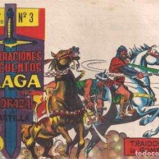 Tebeos: CORAZA DE CASTILLA Nº 3: TRAIDOR EN LA SOMBRA. Lote 231202095