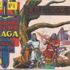 Tebeos: CORAZA DE CASTILLA Nº 4: LA EMBOSCADA. Lote 231202250