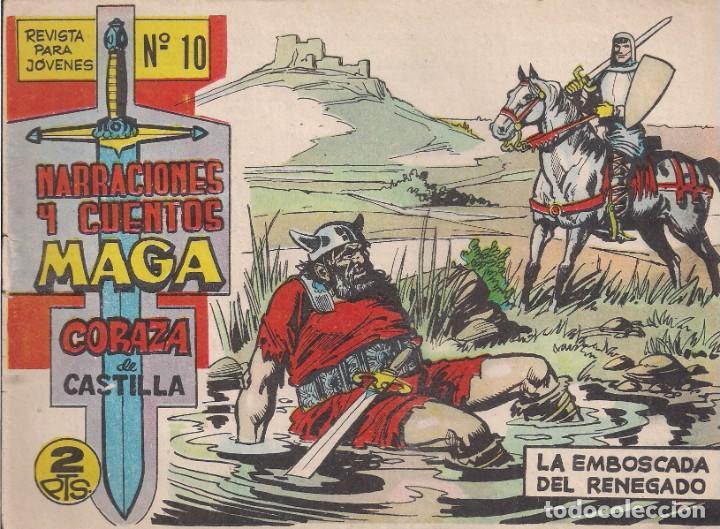 CORAZA DE CASTILLA Nº 10: LA EMBOSCADA DEL RENEGADO (Tebeos y Comics - Maga - Otros)
