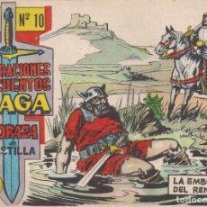 Tebeos: CORAZA DE CASTILLA Nº 10: LA EMBOSCADA DEL RENEGADO. Lote 231202610