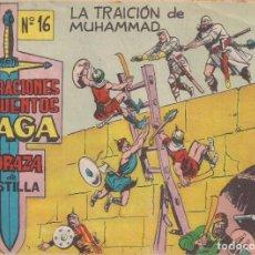 Tebeos: CORAZA DE CASTILLA Nº 16: LA TRAICIÓN DE MUHAMMAD. Lote 231202815