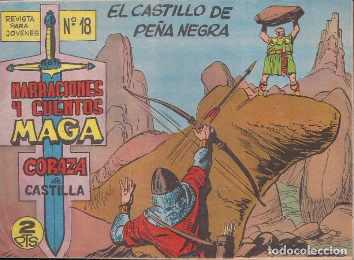 CORAZA DE CASTILLA Nº 18: EL CASTILLO DE PEÑANEGRA (Tebeos y Comics - Maga - Otros)