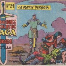 Tebeos: CORAZA DE CASTILLA Nº 21: LA MAYOR DERROTA. Lote 231203455