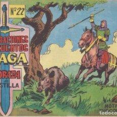 Tebeos: CORAZA DE CASTILLA Nº 22: MOTIVO DE DISCORDIA. Lote 231360710