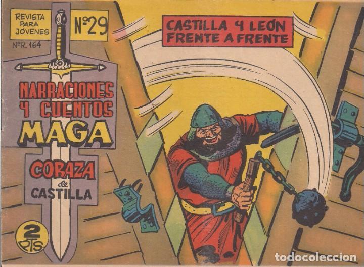 CORAZA DE CASTILLA Nº 29: CASTILLA Y LEÓN FRENTE A FRENTE (Tebeos y Comics - Maga - Otros)