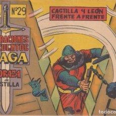 Tebeos: CORAZA DE CASTILLA Nº 29: CASTILLA Y LEÓN FRENTE A FRENTE. Lote 231364210