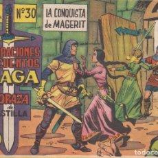 Tebeos: CORAZA DE CASTILLA Nº 30: LA CONQUISTA DE MAGERIT. Lote 231364375