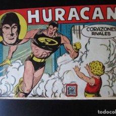 Livros de Banda Desenhada: HURACAN (1960, MAGA) 16 · 29-VI-1960 · CORAZONES RIVALES. Lote 231766330