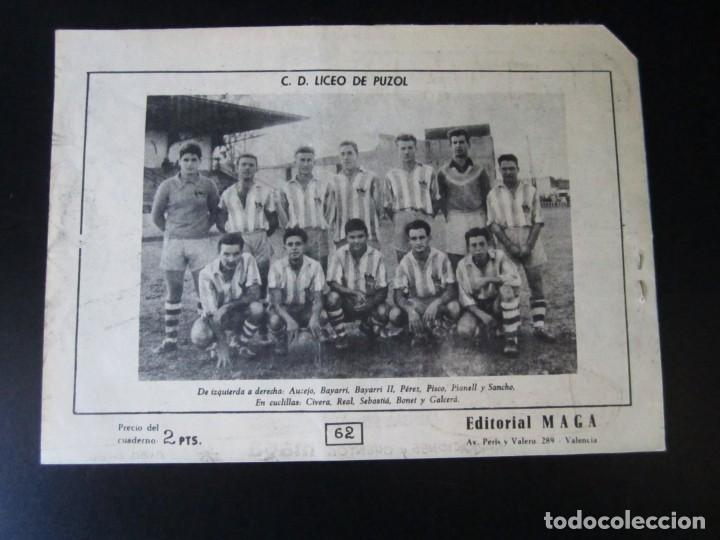 Tebeos: OLIMAN (1961, MAGA) 62 · 25-IV-1962 · FUGA INFRUCTUOSA - Foto 2 - 231833745