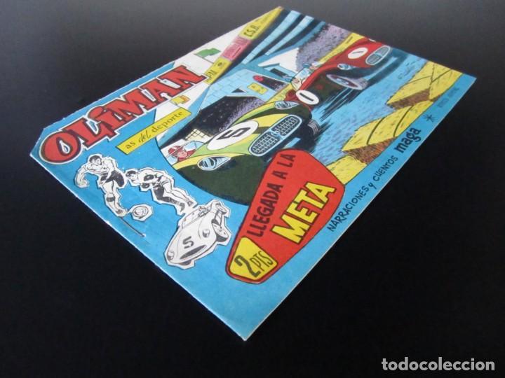 Tebeos: OLIMAN (1961, MAGA) 68 · 6-VI-1962 · LLEGADA A LA META - Foto 3 - 231834125