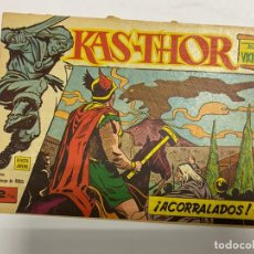 Giornalini: KAS-THOR. EL VIKINGO. ACORRALADOS. Nº 28. EDITORIAL MAGA. VALENCIA, 1963.. Lote 232578530
