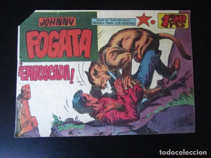 JOHNNY FOGATA (1960, MAGA) 2 · 23-XI-1960 · EMBOSCADA (Tebeos y Comics - Maga - Otros)