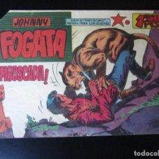Tebeos: JOHNNY FOGATA (1960, MAGA) 2 · 23-XI-1960 · EMBOSCADA. Lote 232625825