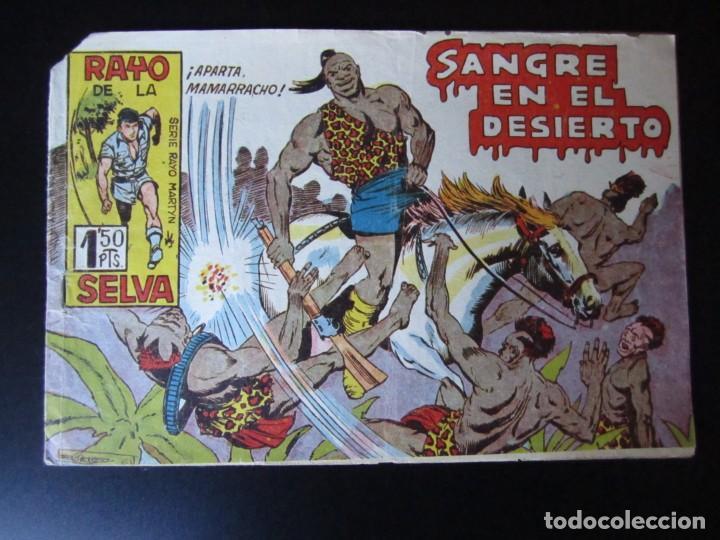 RAYO DE LA SELVA (1960, MAGA) 50 · 29-V-1961 · SANGRE EN EL DESIERTO (Tebeos y Comics - Maga - Rayo de la Selva)
