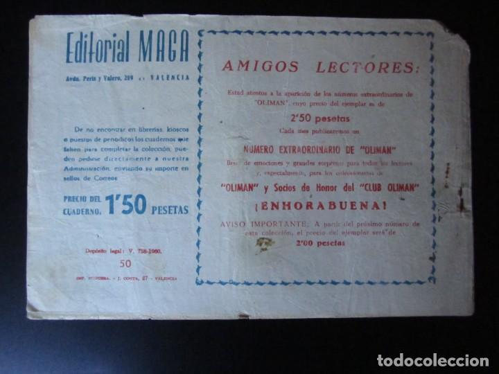 Tebeos: RAYO DE LA SELVA (1960, MAGA) 50 · 29-V-1961 · SANGRE EN EL DESIERTO - Foto 2 - 232637860