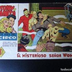 Tebeos: TONY Y ANITA (1960, MAGA) 50 · 21-VI-1961 · EL MISTERIOSO SEÑOR WONG. Lote 232640585