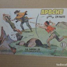BDs: APACHE Nº 34 2 ª PARTE ORIGINAL EDITORIAL MAGA. Lote 232666250