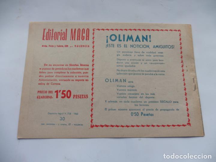 Tebeos: RAYO DE LA SELVA Nº30 MAGA ORIGINAL - Foto 2 - 232716105