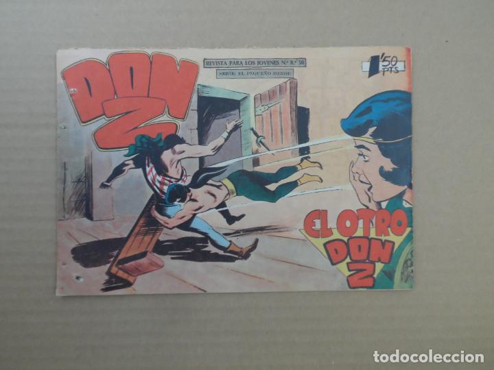 DON Z Nº 34 EDITORIAL MAGA 1960 ORIGINAL (Tebeos y Comics - Maga - Don Z)