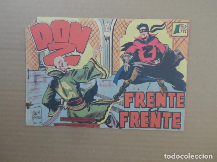 DON Z Nº 19 EDITORIAL MAGA 1960 ORIGINAL (Tebeos y Comics - Maga - Don Z)