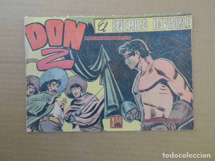 DON Z Nº 7 EDITORIAL MAGA 1960 ORIGINAL (Tebeos y Comics - Maga - Don Z)