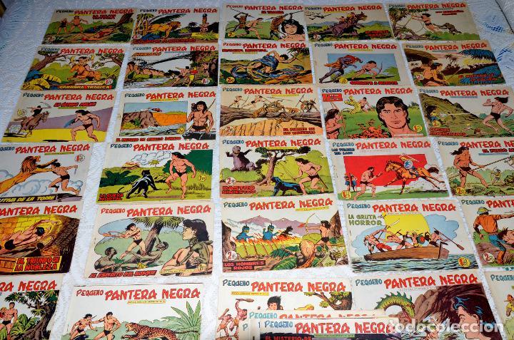 Tebeos: LOTE DE 51 CUADERNOS ORIGINALES DE LA SERIE PEQUEÑO PANTERA NEGRA MAGA (LEER DESCRIPCIÓN) - Foto 4 - 233360375
