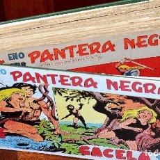Tebeos: LOTE DE 51 CUADERNOS ORIGINALES DE LA SERIE PEQUEÑO PANTERA NEGRA MAGA (LEER DESCRIPCIÓN). Lote 233360375