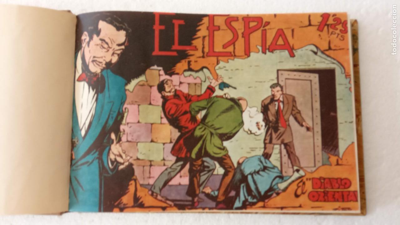 Tebeos: EL ESPÍA ORIGINAL 1952 MAGA COMPLETA, POR JOSÉ ORTIZ, VICENTE RAMOS ETC. - Foto 4 - 233836050