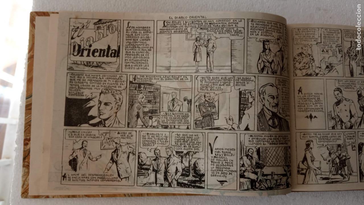 Tebeos: EL ESPÍA ORIGINAL 1952 MAGA COMPLETA, POR JOSÉ ORTIZ, VICENTE RAMOS ETC. - Foto 5 - 233836050