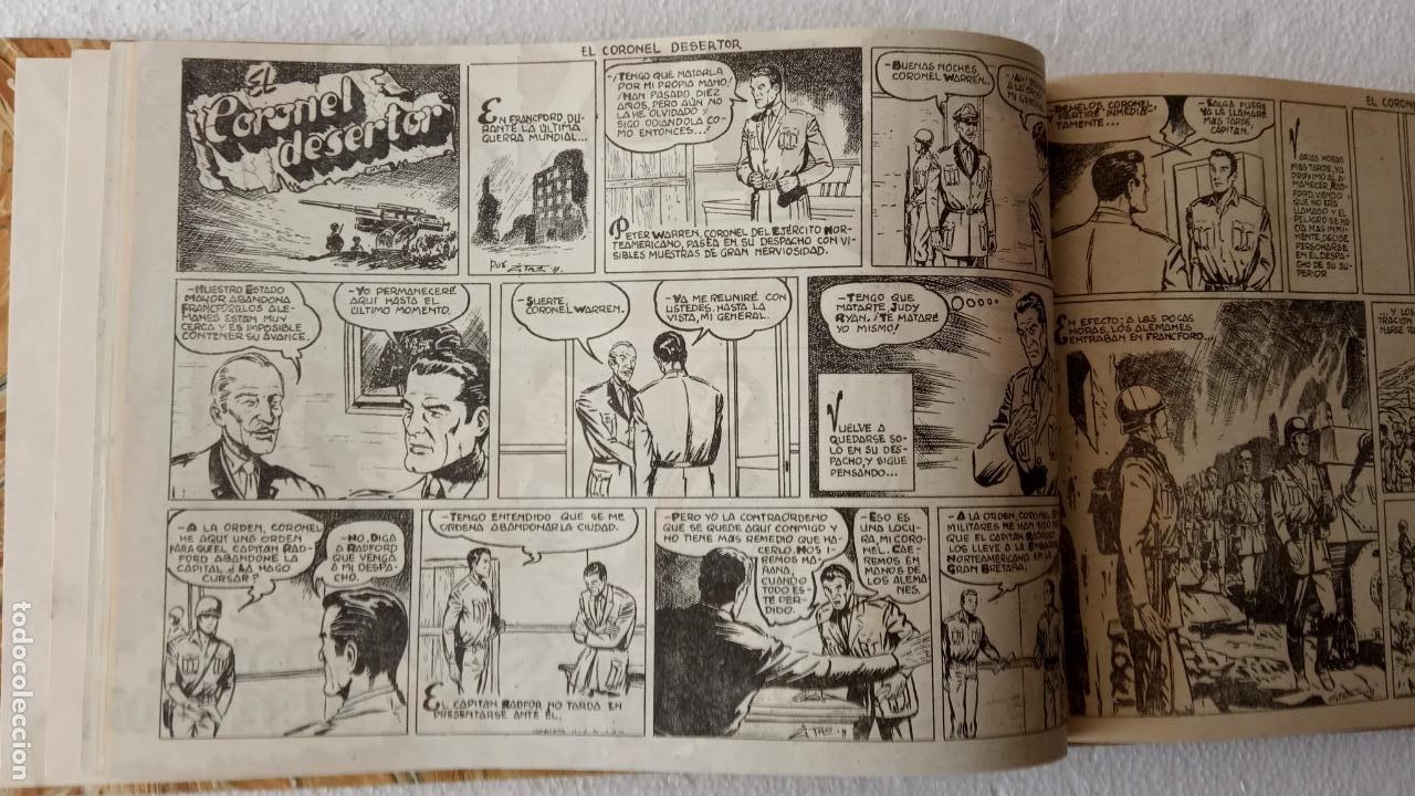 Tebeos: EL ESPÍA ORIGINAL 1952 MAGA COMPLETA, POR JOSÉ ORTIZ, VICENTE RAMOS ETC. - Foto 16 - 233836050