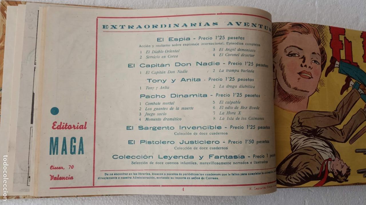 Tebeos: EL ESPÍA ORIGINAL 1952 MAGA COMPLETA, POR JOSÉ ORTIZ, VICENTE RAMOS ETC. - Foto 17 - 233836050