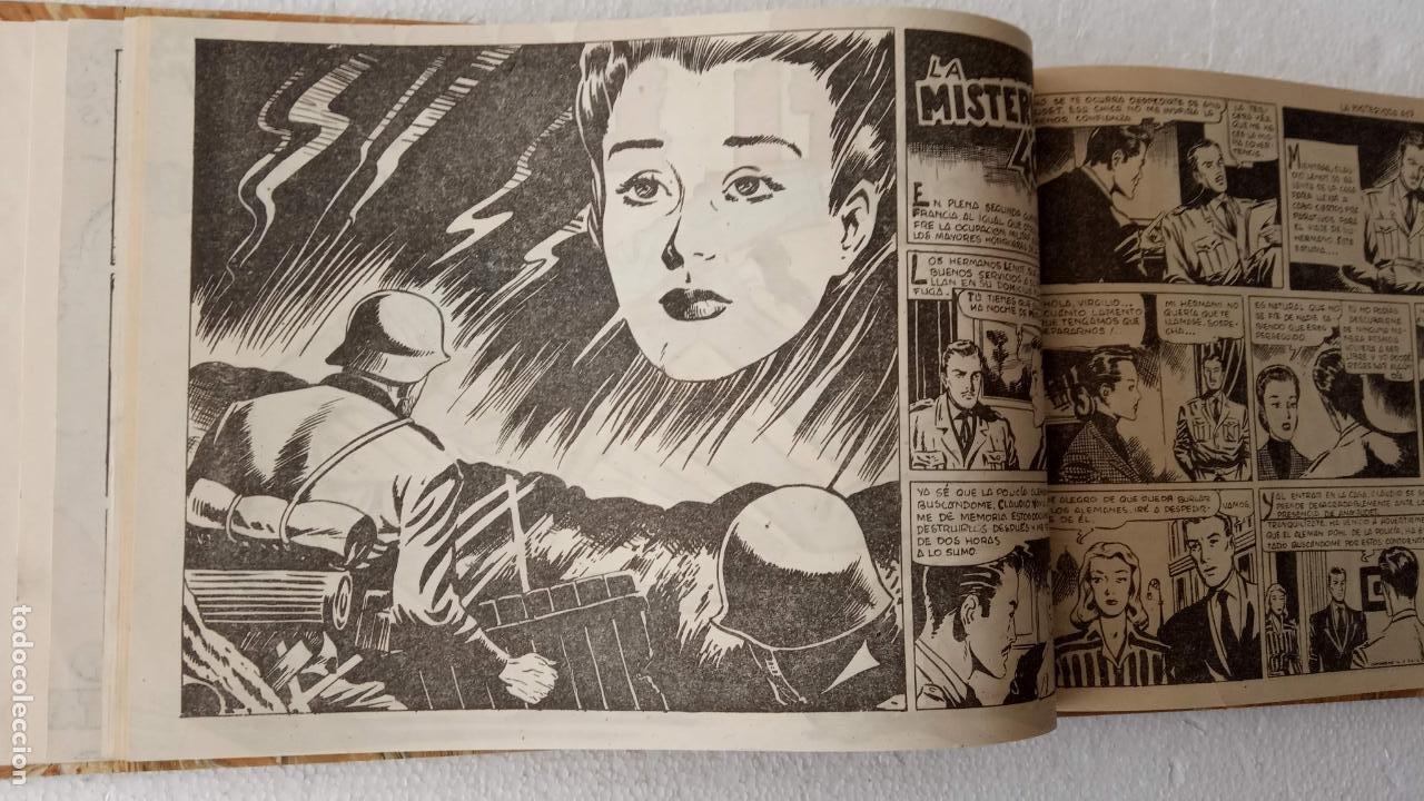 Tebeos: EL ESPÍA ORIGINAL 1952 MAGA COMPLETA, POR JOSÉ ORTIZ, VICENTE RAMOS ETC. - Foto 19 - 233836050