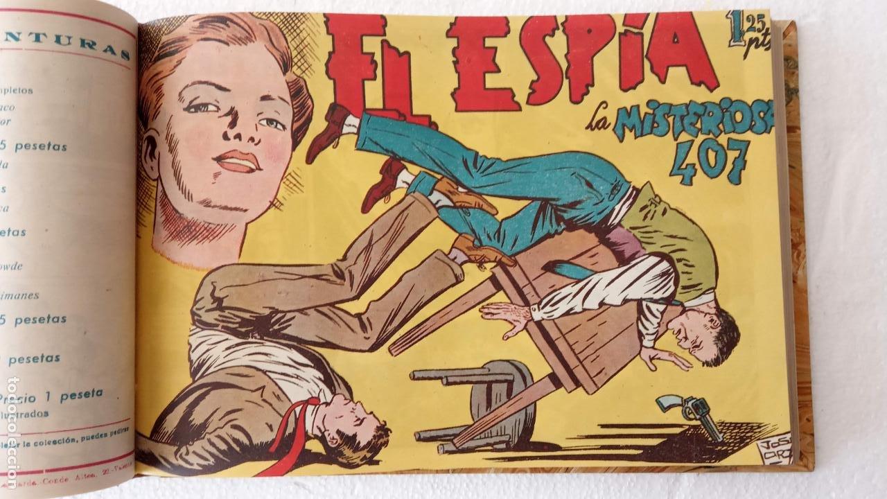 Tebeos: EL ESPÍA ORIGINAL 1952 MAGA COMPLETA, POR JOSÉ ORTIZ, VICENTE RAMOS ETC. - Foto 20 - 233836050