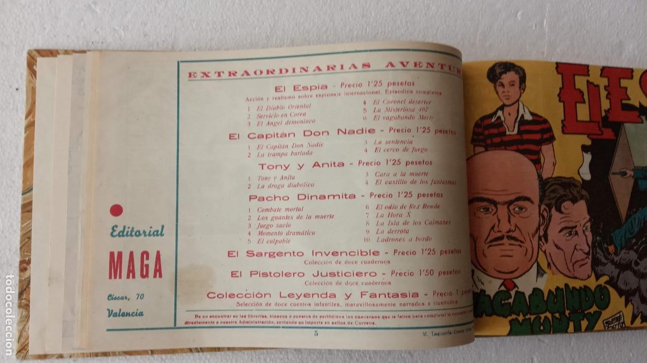 Tebeos: EL ESPÍA ORIGINAL 1952 MAGA COMPLETA, POR JOSÉ ORTIZ, VICENTE RAMOS ETC. - Foto 21 - 233836050