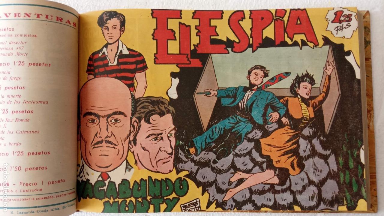 Tebeos: EL ESPÍA ORIGINAL 1952 MAGA COMPLETA, POR JOSÉ ORTIZ, VICENTE RAMOS ETC. - Foto 25 - 233836050