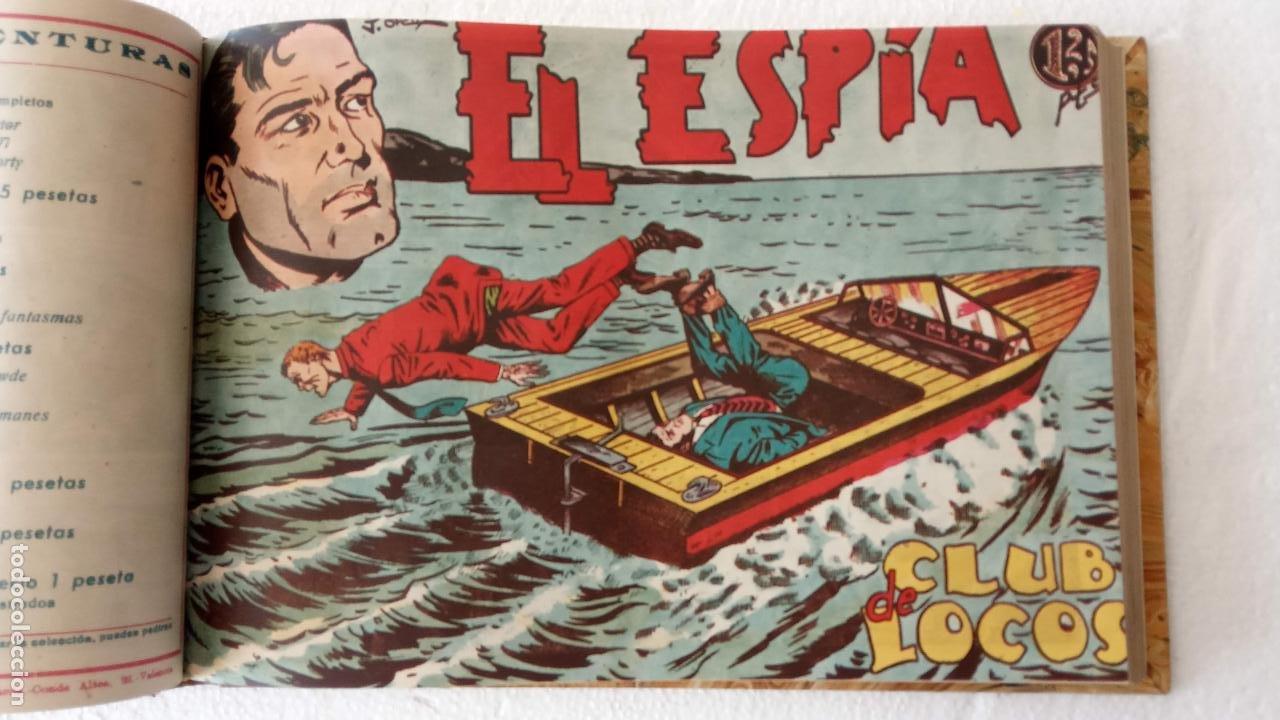 Tebeos: EL ESPÍA ORIGINAL 1952 MAGA COMPLETA, POR JOSÉ ORTIZ, VICENTE RAMOS ETC. - Foto 27 - 233836050