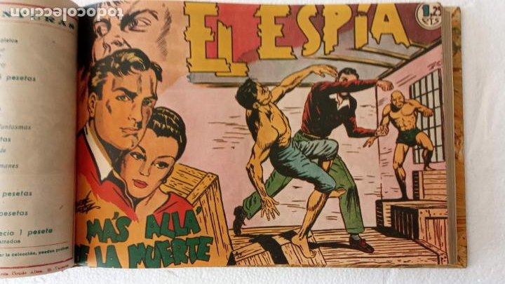 Tebeos: EL ESPÍA ORIGINAL 1952 MAGA COMPLETA, POR JOSÉ ORTIZ, VICENTE RAMOS ETC. - Foto 28 - 233836050
