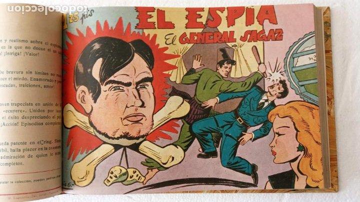Tebeos: EL ESPÍA ORIGINAL 1952 MAGA COMPLETA, POR JOSÉ ORTIZ, VICENTE RAMOS ETC. - Foto 30 - 233836050