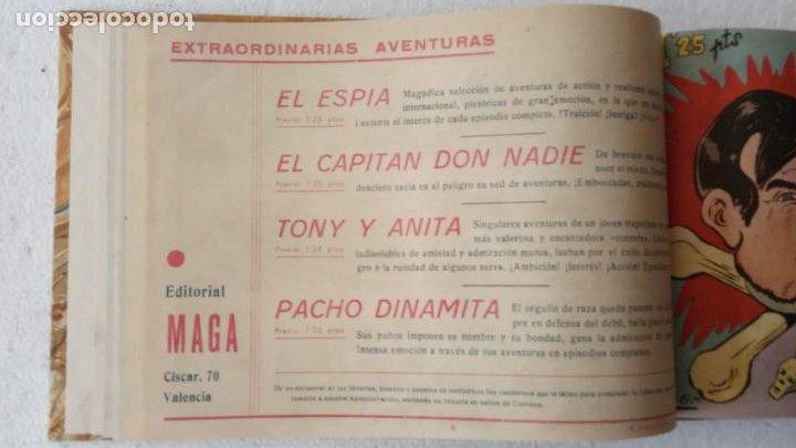 Tebeos: EL ESPÍA ORIGINAL 1952 MAGA COMPLETA, POR JOSÉ ORTIZ, VICENTE RAMOS ETC. - Foto 31 - 233836050