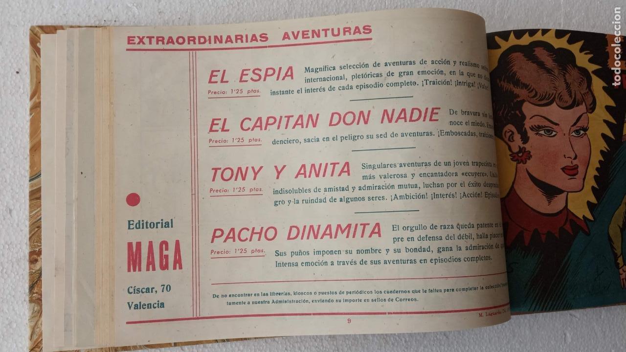 Tebeos: EL ESPÍA ORIGINAL 1952 MAGA COMPLETA, POR JOSÉ ORTIZ, VICENTE RAMOS ETC. - Foto 33 - 233836050