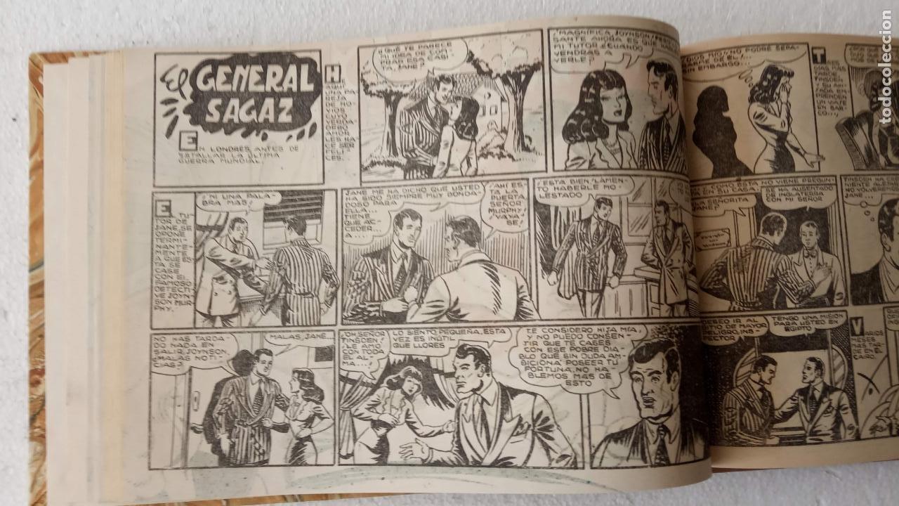 Tebeos: EL ESPÍA ORIGINAL 1952 MAGA COMPLETA, POR JOSÉ ORTIZ, VICENTE RAMOS ETC. - Foto 34 - 233836050