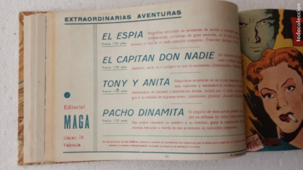 Tebeos: EL ESPÍA ORIGINAL 1952 MAGA COMPLETA, POR JOSÉ ORTIZ, VICENTE RAMOS ETC. - Foto 36 - 233836050