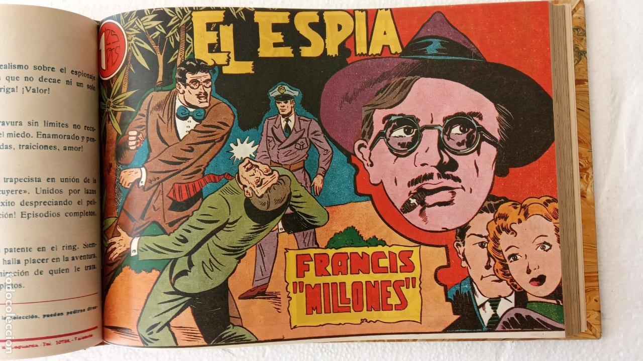 Tebeos: EL ESPÍA ORIGINAL 1952 MAGA COMPLETA, POR JOSÉ ORTIZ, VICENTE RAMOS ETC. - Foto 40 - 233836050