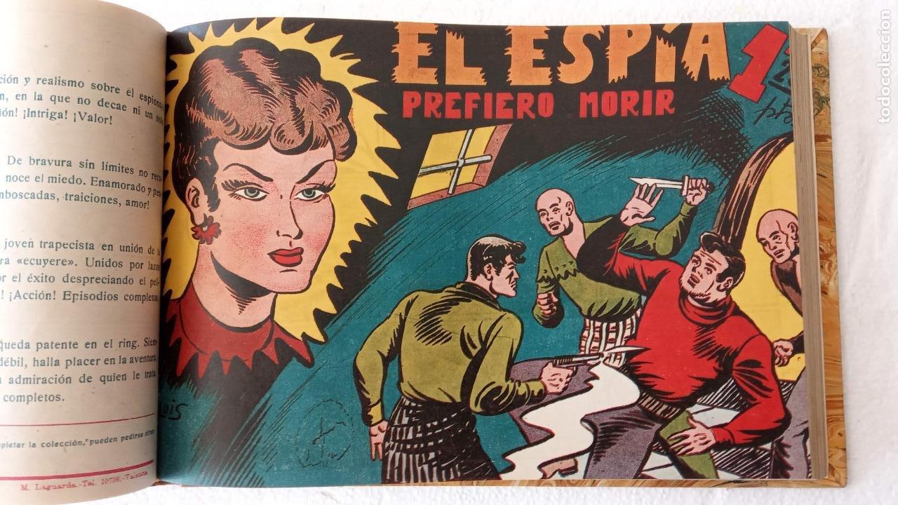 Tebeos: EL ESPÍA ORIGINAL 1952 MAGA COMPLETA, POR JOSÉ ORTIZ, VICENTE RAMOS ETC. - Foto 43 - 233836050
