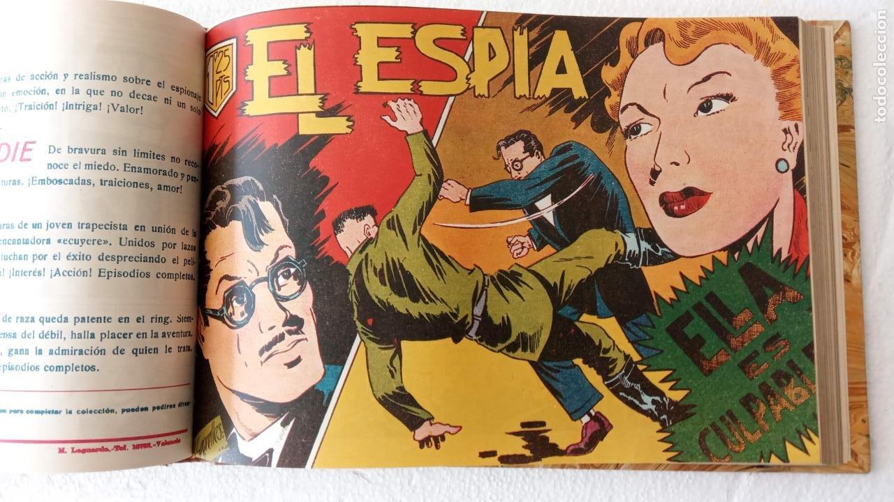 Tebeos: EL ESPÍA ORIGINAL 1952 MAGA COMPLETA, POR JOSÉ ORTIZ, VICENTE RAMOS ETC. - Foto 47 - 233836050