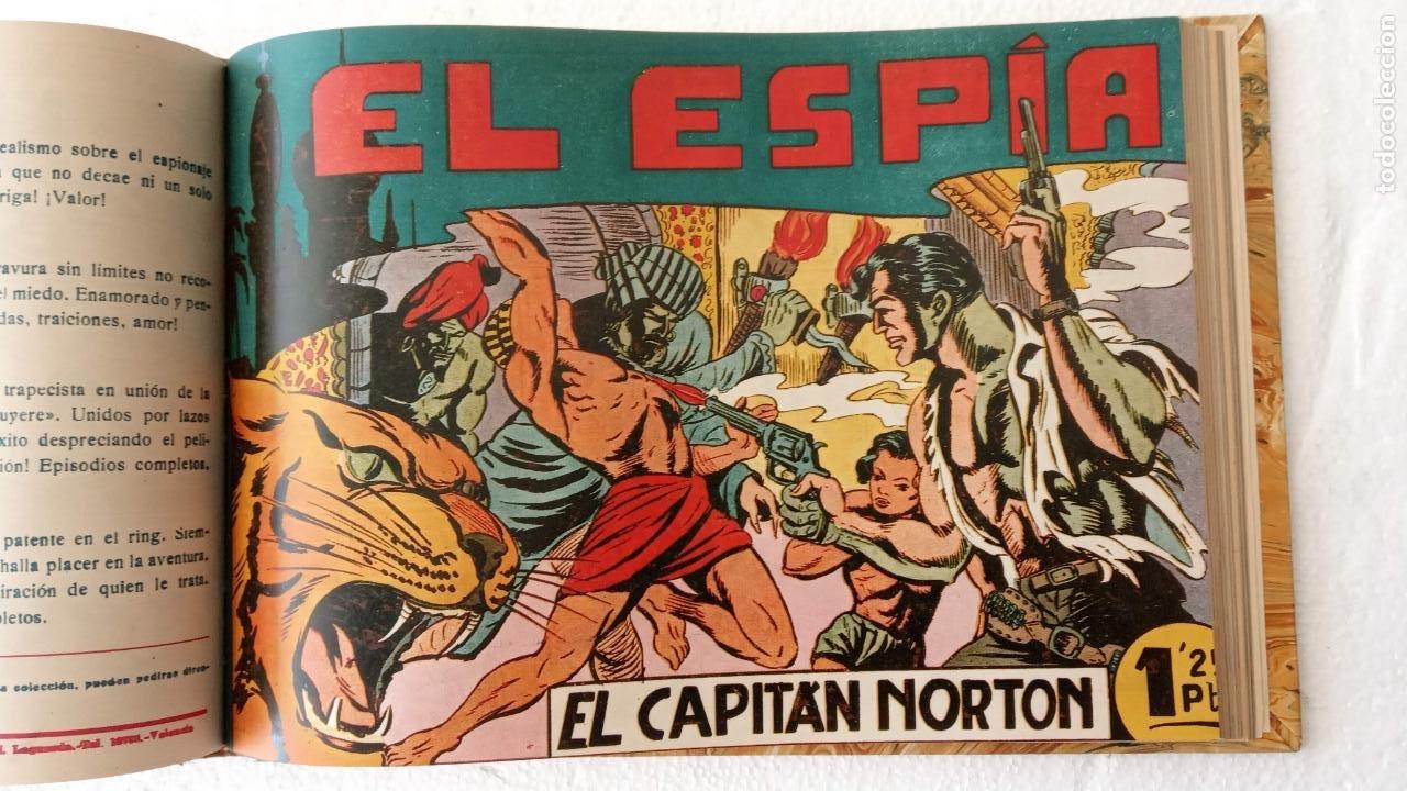 Tebeos: EL ESPÍA ORIGINAL 1952 MAGA COMPLETA, POR JOSÉ ORTIZ, VICENTE RAMOS ETC. - Foto 51 - 233836050