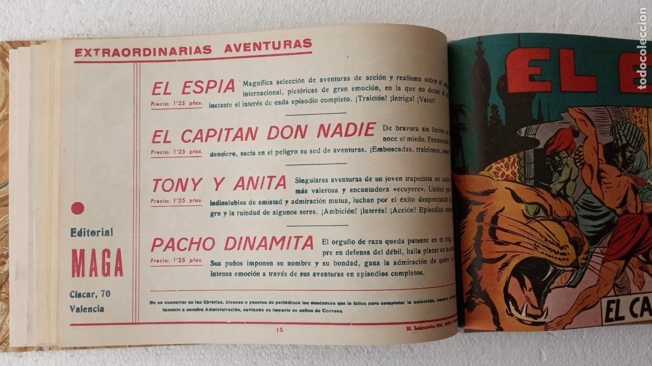 Tebeos: EL ESPÍA ORIGINAL 1952 MAGA COMPLETA, POR JOSÉ ORTIZ, VICENTE RAMOS ETC. - Foto 52 - 233836050